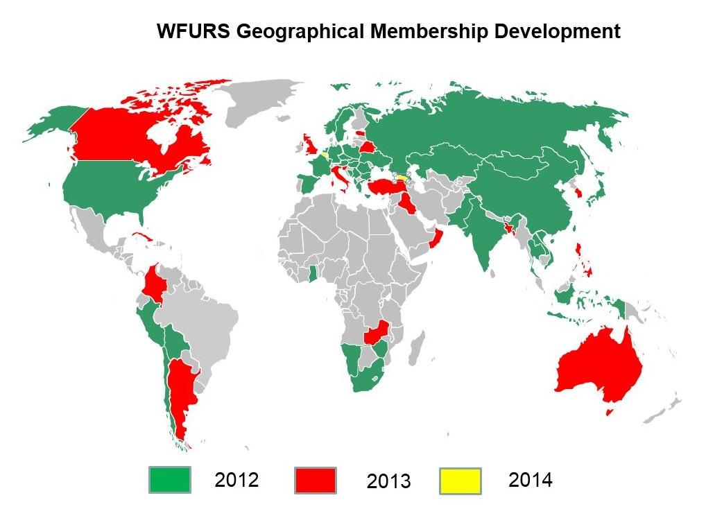 WFURS Members Map
